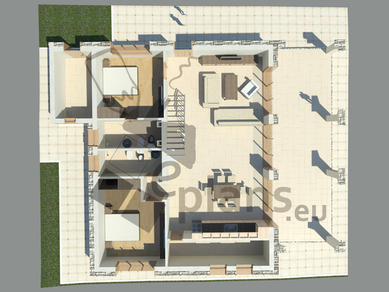 Ready made house plans house design projects for Pre made house plans